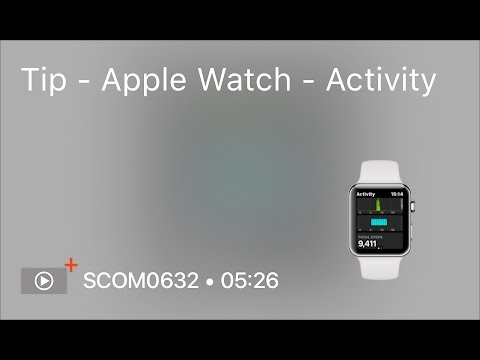 SCOM0632 - Tip - Apple Watch - Activity