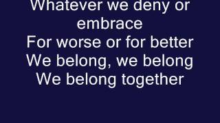 Video We Belong- Pat Benatar (Official Lyrics) MP3, 3GP, MP4, WEBM, AVI, FLV Juli 2018