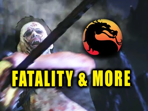 LEATHERFACE: Fatality-Brutality-Combos-Music Video (Mortal Kombat X)