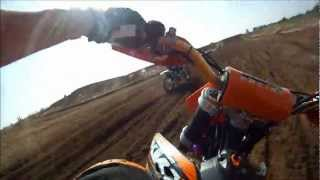 10. Fatcats Motoparc Race Track GOPRO HD Chest mount KTM 450
