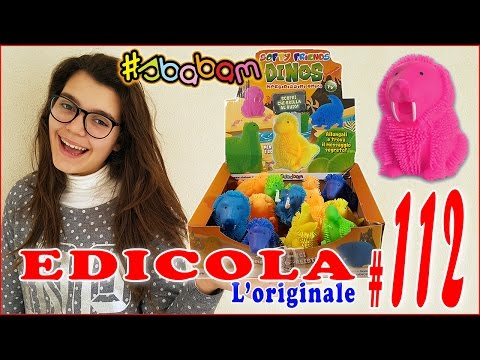 EDICOLA #112: SOFTY FRIENDS DINOS - Apriamo insieme 1 pacco da 12 bustine (by Giulia Guerra) (видео)