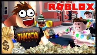 GETTING RICH QUICK IN ROBLOX!! | Roblox Cash Grab Simulator