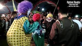 Festival Tongtek Jepara Badut Ikutan Joget