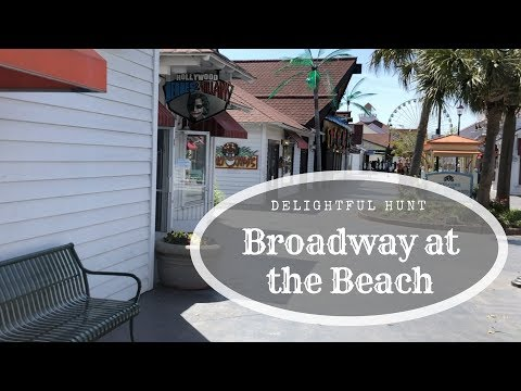 Broadway at the Beach, Myrtle Beach, SC: Delightful Hunt