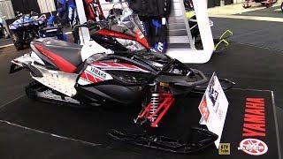 7. 2018 Yamaha Apex X-TX LE 50th Anniversary Sled - Walkaround - 2017 Toronto Snowmobile ATV Show