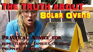 Solar oven and solar cooking. We see tons of YT videos showing how to cook with them. But no one ever GIVES ANY REAL LIFE ...