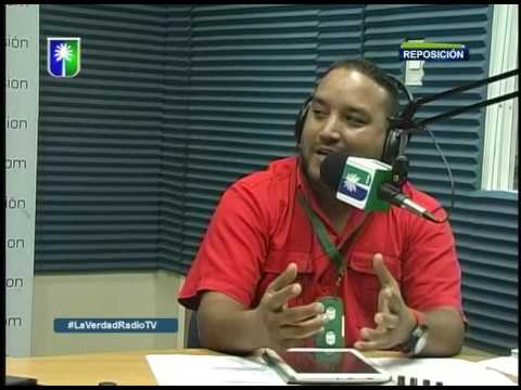 Entrevista a Daniel Monteverde en La Verdad Radio Tv