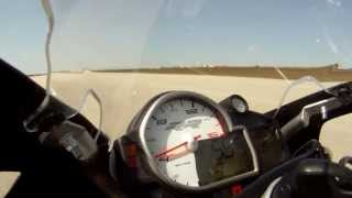 4. Valerie Thompson 212 mph Texas Mile - BMW S 1000 RR