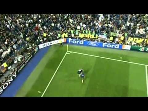 milito segna il secondo goal nella finale di champions league 2010