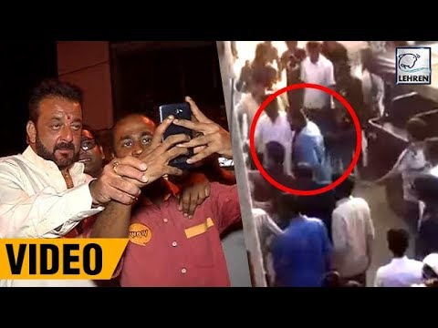 Sanjay Dutt MOBBED By Fans In Jodhpur During Film