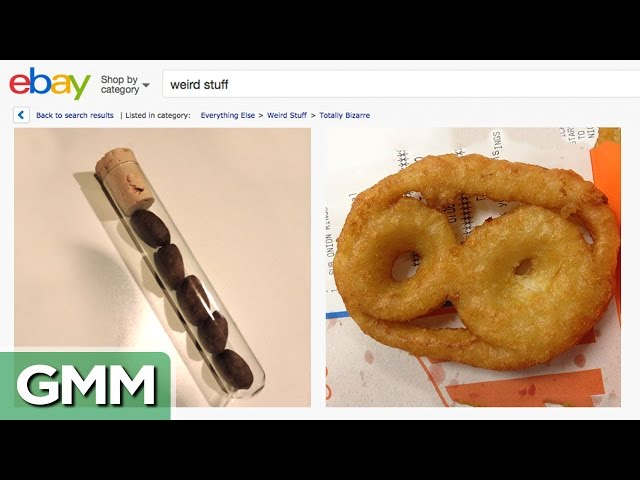 Good Mythical Morning In Spanish : Weirdest ebay items game mp fordfiesta