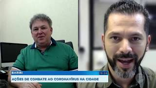 Bariri: ações de combate ao coronavírus na cidade