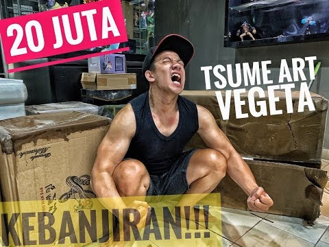 MUSIBAH!! TSUME ART MAJIN VEGETA 20JUTA KEBANJIRAN!!!! OH MY LORD!!!(ENGLISH SUBTITLE).