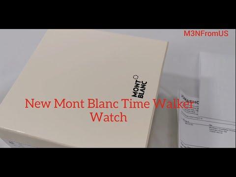 New MontBlanc TimeWalker Chronograph Watch