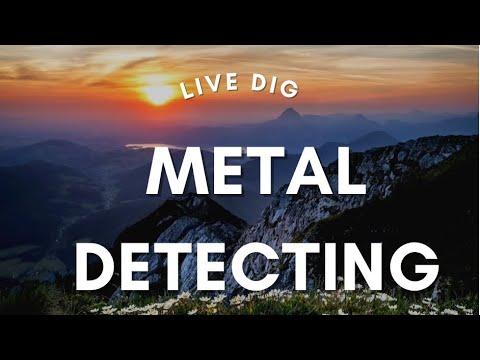 Fisher F44 Metal Detector Live Dig