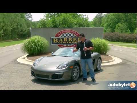 2013 Porsche Boxster S: Video Road Test & Review