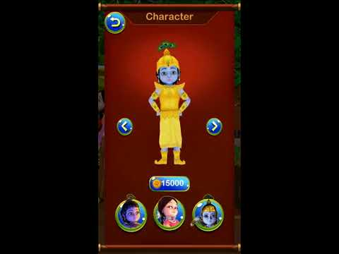 Little Krishna Mobile Game