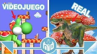 Video Personajes de Super Mario Bros en la VIDA REAL | N Deluxe MP3, 3GP, MP4, WEBM, AVI, FLV Juni 2018