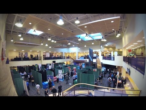 Video thumbnail: Career Fair Fall 2016 hosted by the Career Center