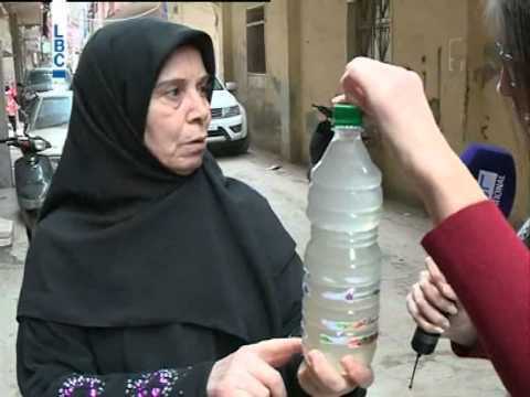 مياه الشرب في حي السلم ملوثة... واهالي المنطقة قلقون على صحتهم