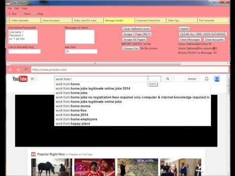 YT Message Sender Bot in Tube Video Marketing Software Free Tips