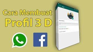 Video Cara Edit Profil Whatsapp Menjadi 3 D - PixelLab - Lagi Viral MP3, 3GP, MP4, WEBM, AVI, FLV Oktober 2018