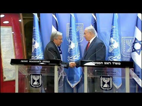 Nετανιάχου:«Παρἀλογη εμμονή του ΟΗΕ με το Ισραήλ»