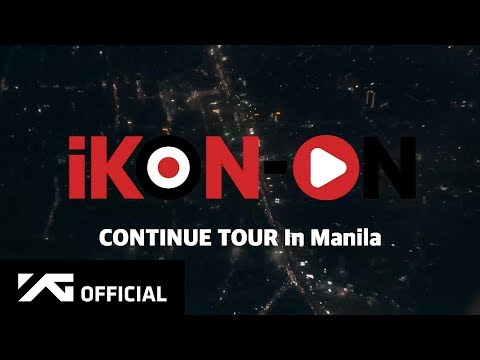 iKON-ON : CONTINUE TOUR IN MANILA