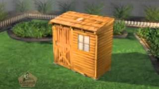 Cedarshed Bayside Shed Kit
