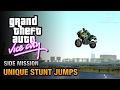 GTA Vice City - Unique Stunt Jumps [Daredevil Trophy / Achievement]