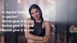 Hailee Steinfeld,  BloodPop® - Capital Letters (Lyrics)