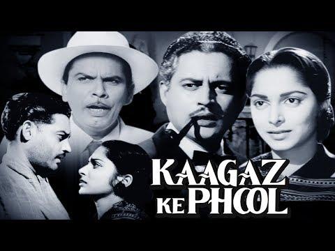 Kaagaz Ke Phool Full Movie HD | Guru Dutt Movie | Waheeda Rehman | Old Hindi Movie|English Subtitles