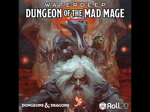 Roll20 Review - Waterdeep: Dungeon of the Mad Mage