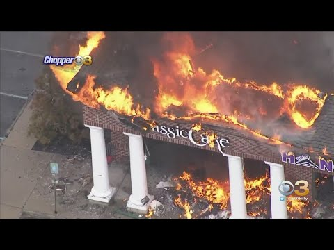 Short Hills Town Center In Cherry Hill Destroyed By Massive Fire