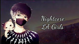 Video Nightcore - LA Girls [Charlie Puth] (Lyrics) MP3, 3GP, MP4, WEBM, AVI, FLV Juni 2018