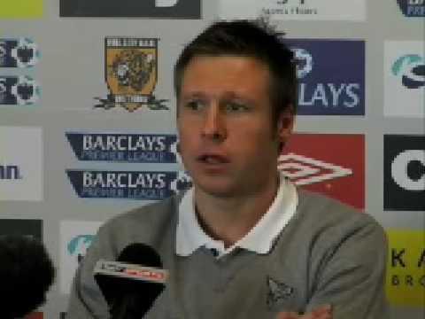 Nick Barmby declara a la prensa