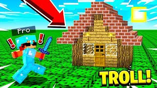 25 WAYS TO TROLL A PRO IN MINECRAFT!