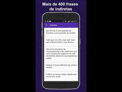 App de Frases de Indiretas