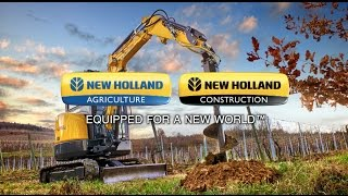 7. Compact Excavators by New Holland – The C Series