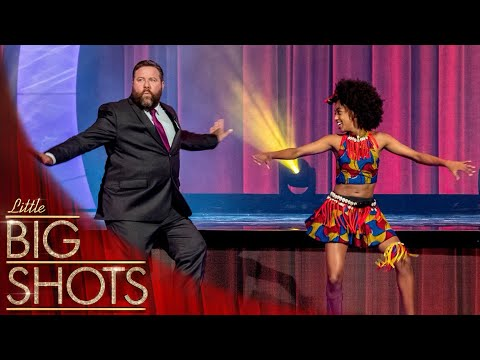 The Incredible Afro-Fusion Dancer Tsehay @Best Little Big Shots