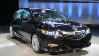 2014 Acura RLX @ 2012 LA Auto Show