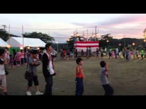 仙台市泉区福岡小学校夏祭り