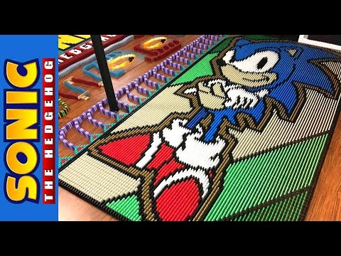 Sonic the Hedgehog in 22 171 Dominoes