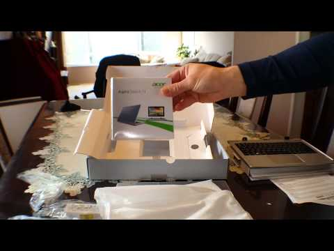 Acer Aspire Switch 11 unboxing