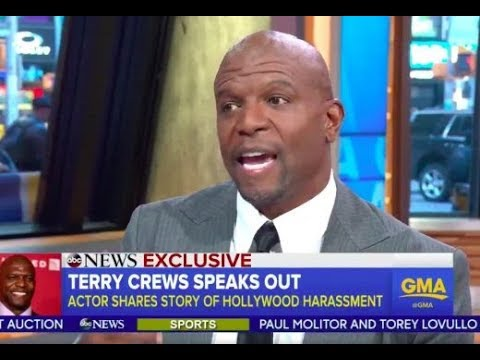 Terry Crews goes on GMA~ says the Exec Who Groped Him made him feel EMASCULATED