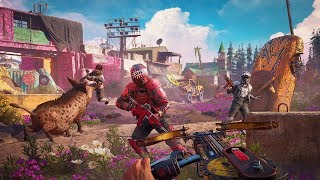 Far Cry New Dawn Killer Grannies And A Good Boi Gameplay Live