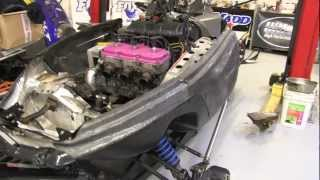 10. Trailing arm replacement, Polaris XLT mod sled 600 triple!  PowerModz!!