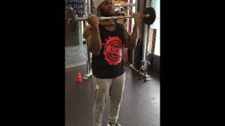 Barbell Curls Exercise