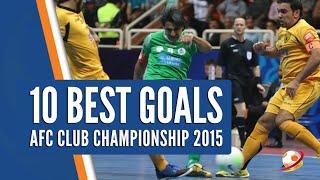 Video 10 Best Goals AFC Futsal Champions League 2015 MP3, 3GP, MP4, WEBM, AVI, FLV Juni 2017