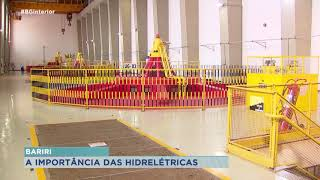 Usina hidrelétrica de Bariri é um importante pólo de negócios da região